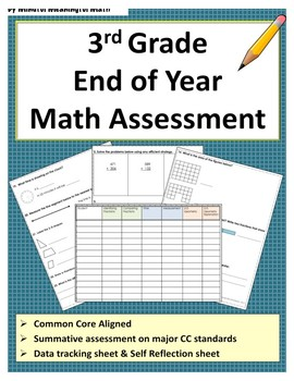 3rd G End of Year Math Assessment