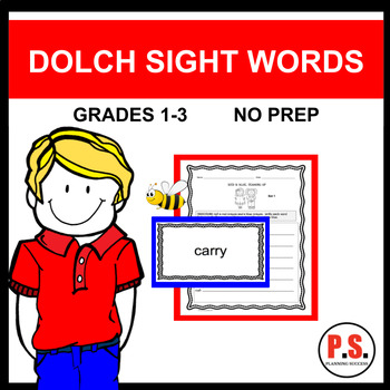 3rd GRADE DOLCH SIGHT WORDS
