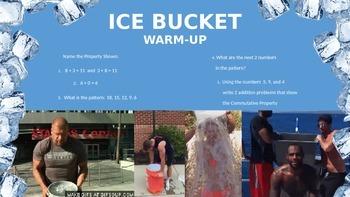 3rd GRADE MATH DAILY WARM UP - ICE BUCKET CHALLENGE