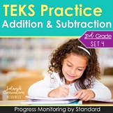 3rd Grade TEKS PRACTICE 3.4A 3.4B 3.5A 3.5E ADDITION & SUBTRACTION STAAR PREP