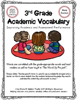 3rd GRade Academic Vocabulary