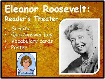 3rd Gr GPS Historical Figure Reader's Theater review for CRCT: Eleanor Roosevelt