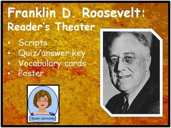 3rd Gr GPS Historical Figure Reader's Theater review for CRCT: F.D. Roosevelt