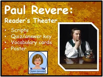 3rd Gr GPS Historical Figure Reader's Theater review for CRCT: Paul Revere