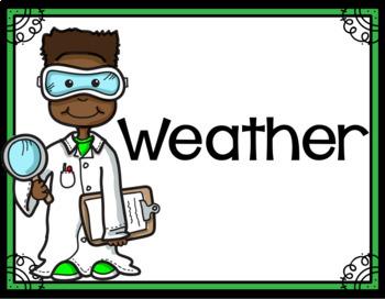 3rd Gr Texas TEKS Science Vocabulary Word Wall
