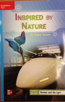 3rd Gr. Unit 3 Week 4 On Level Reader Inspired by Nature Response
