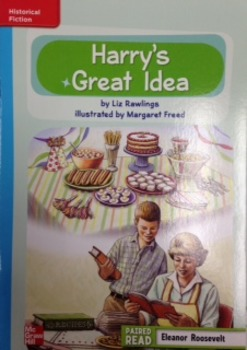 3rd Gr. Wonders Unit 3 Week 2 On Level Reader Harry's Great Idea Response