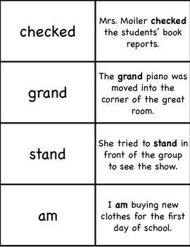 3rd Grade 100 High Frequency Word Flashcards Sentence Fluency