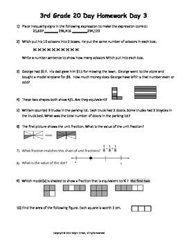 3rd Grade 20 Days to Math STAAR