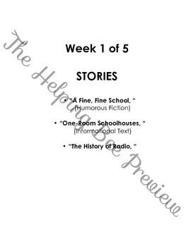 3rd Grade CCSS Journeys LA Common Core Lesson Plans Unit 1 Vocabulary & Stories