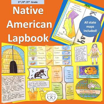 3rd/4th/5th Grade Native American Tribe Lapbook