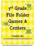 3rd Grade - 7 Language Arts Centers (grammar & reading) 47