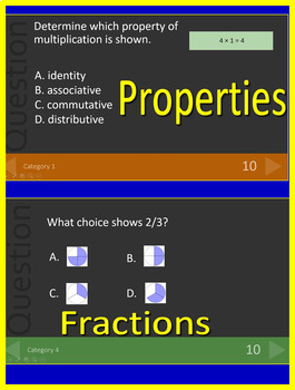 3rd Grade ACT Aspire Math Test Prep Practice Tests AND Games Bundle!