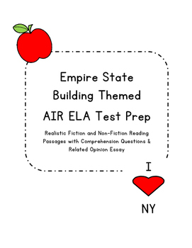 3rd Grade AIR Test Prep- Empire State Building
