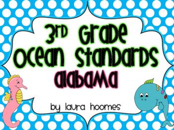 3rd Grade ALABAMA Ocean Standards