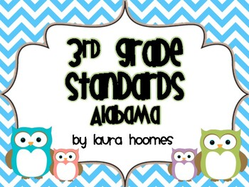 3rd Grade ALABAMA Owl Standards