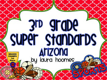 3rd Grade ARIZONA Sports Standards