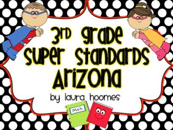 3rd Grade ARIZONA Superhero Standards