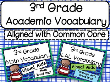 3rd Grade Academic Vocabulary Posters: Aligned with the Common Core