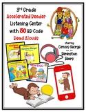 3rd Grade Accelerated Reader AR Listening Center w/50 QR C