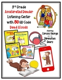 3rd Grade Accelerated Reader AR Listening Center w/50 QR Code READ ALOUDS