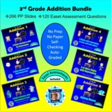 3rd Grade Addition Bundle - 6 Powerpoint Lessons - 234 Slides