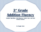 3rd Grade Addition Fluency Stations Activities - TEKS 3.4A and 3.5A