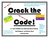 3rd Grade Addition and Subtraction Fluency Crack the Code Worksheets