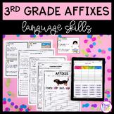 3rd Grade Affixes Unit & Task Cards - PDF & Google Slides