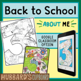 3rd Grade All About Me Book - Back to School Activities - First Day of School