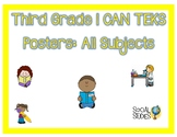 3rd Grade All Subjects I CAN TEKS Posters Bundle