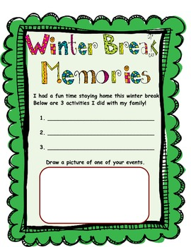 4th Grade - Year Long Memory Book - Beg, Mid, and End!