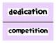 Reading Street Common Core 2013-Amazing Words-Grade 3-Unit Six