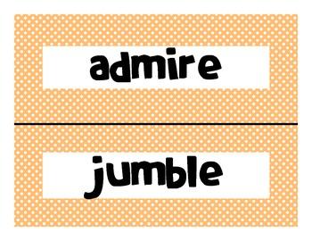 Reading Street Common Core 2013-Amazing Words-Grade 3-Unit Three