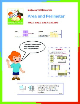 Math Journal: Resources for Area and Perimeter