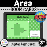 3rd Grade Area of Regular & Rectilinear Shapes   BOOM Cards   3.MD.C7d