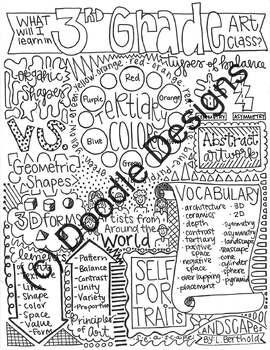 3rd Grade Art Overview