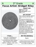 3rd Grade Art Table Centers by Medium