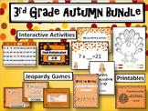 3rd Grade Autumn Activities