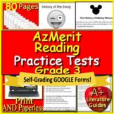 3rd Grade AzMerit Test Prep Practice for Arizona - Google Ready