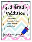 3rd Grade Back to School Addition