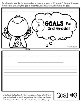 3rd Grade Back to School Lapbook