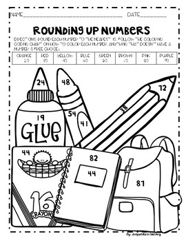 3rd Grade Back to School No Prep Math and ELA Pack