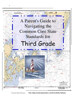 3rd Gr.Back to School Parent's Guide for Navigating the CCSS