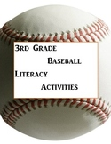 3rd Grade Baseball Biography comprehension activities