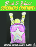 3rd Grade Beginning of the Year Flipable Craftivity {Superhero Theme}
