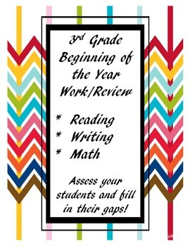 3rd Grade Beginning of the Year Review