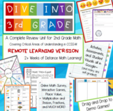 3rd Grade Beginning of the Year Review--REMOTE edition