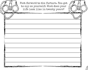 3rd Grade Beginning of the Year Writing Activities {Spy Theme & Editable}