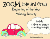 3rd Grade Beginning of the Year Writing Activity